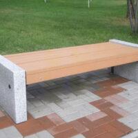 Гранитные скамейки